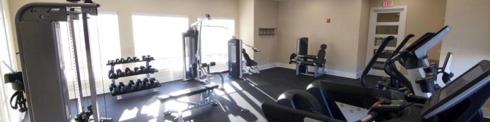 Beacon Place Statesboro- luxury apartments gym center
